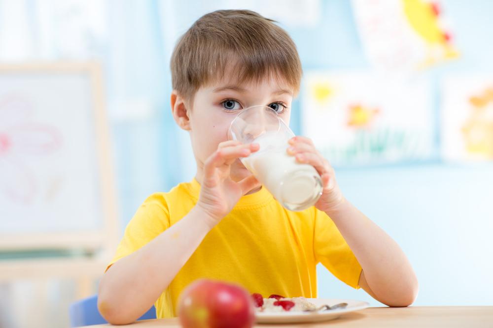 melk op school
