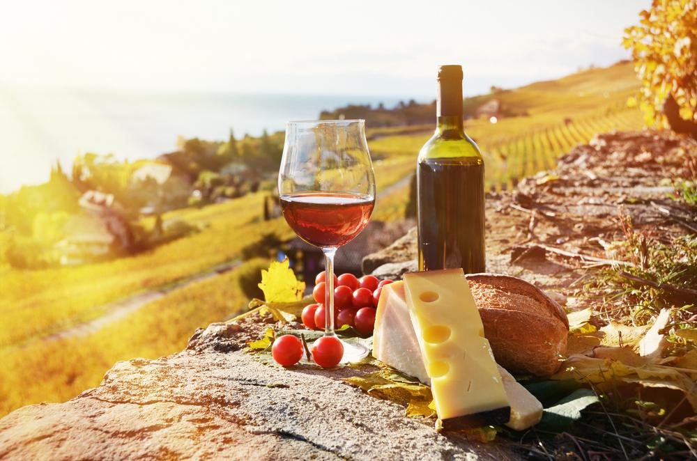 wijn met kaas