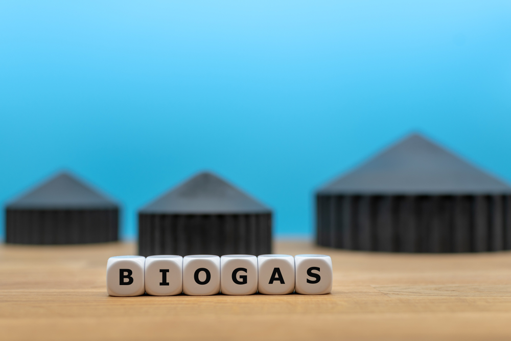 biogas uit kaasafval
