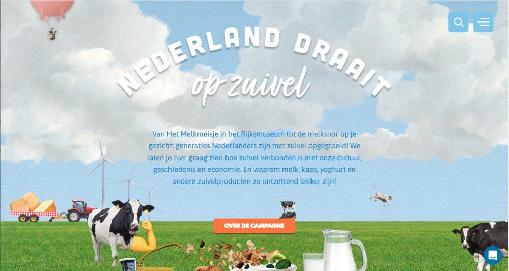 Nederland draait op zuivel
