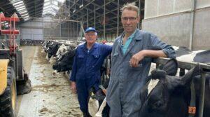 Bart van Dijk melkveehouder