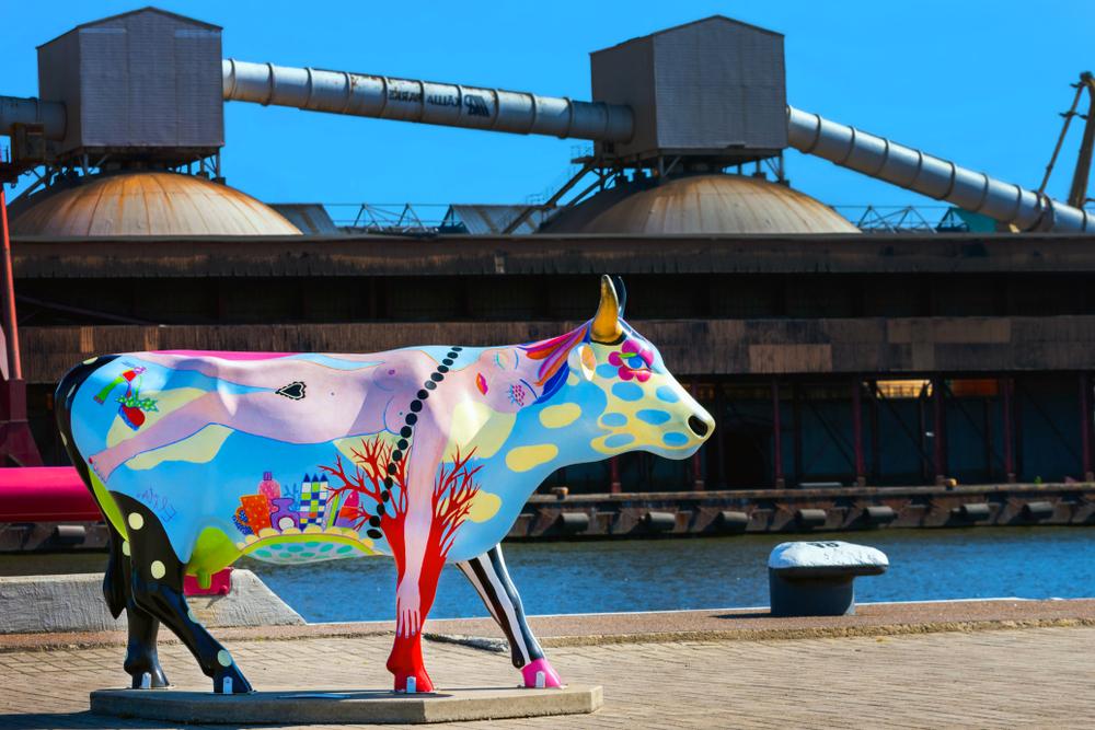 Koeienkunst: kunstproject Cow Parade