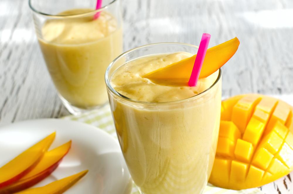 Cocktail met yoghurt